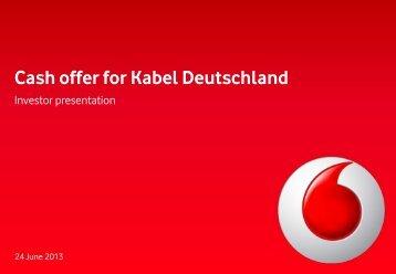 Download the investor presentation - Vodafone