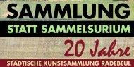 Sammlung Statt SammelSurium - Radebeul