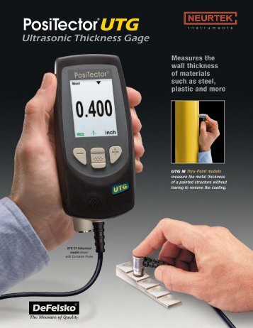 Ultrasonic Thickness Gage - Neurtek