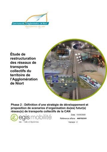 Phase 2 - Communauté d'Agglomération de Niort