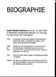 BIOGRAPHIE - Klinik Hohe Mark
