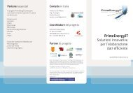 PrimeEnergyIT Soluzioni innovative per l'elaborazione dati efficiente