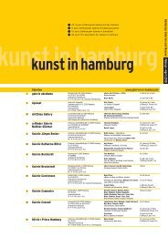 kunst in hamburg - Galerie Ruth Sachse