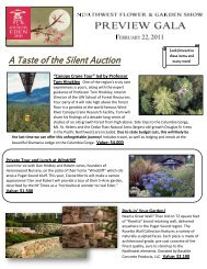 A Taste of the Silent Auction - The Arboretum Foundation