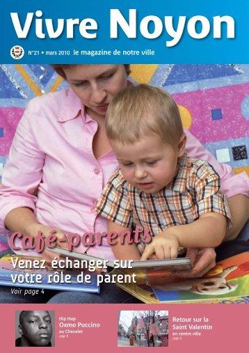 VN mars 2010 impression:Maquette recherche - Ville de Noyon