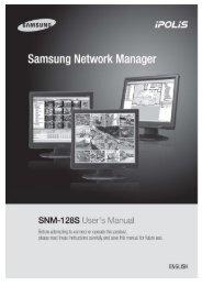 Preface - Samsung CCTV