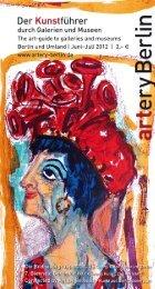 8.7. – 19.8.2012 - artery Berlin