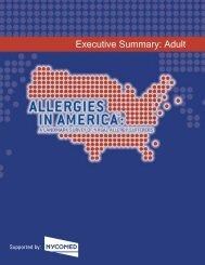 Findings for Adults, Executive Summary, Narrative - World Allergy ...