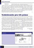 Máj 2004 - Ústredie práce, sociálnych vecí a rodiny - Page 6