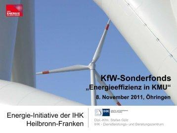 Energie - Initiative der IHK Heilbronn-Franken - WIH ...