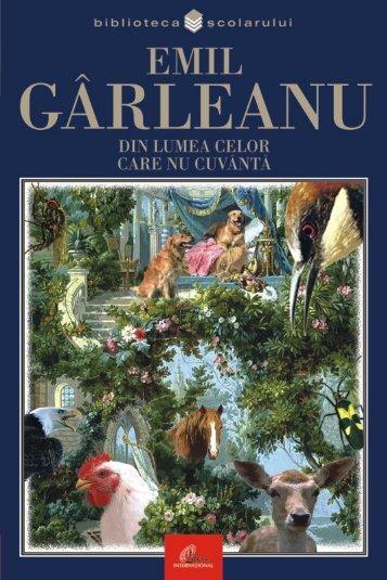 Garleanu Emil – Din lumea celor care nu cuvanta - Soroca