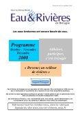 Décembre 2008 2 0 0 8 Délégations du Finistère - Eau et rivières de ... - Page 4