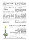 Pfarrbrief - St. Martin, Bilk - Seite 6