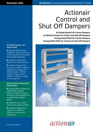 Air/Shield Dampers - Actionair