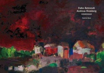 Falko Behrendt Andreas Homberg - Galerie Rose