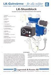 LK Shuntblock - LK Systems AB