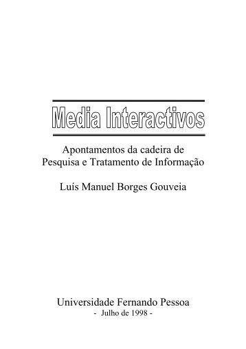 texto - Universidade Fernando Pessoa