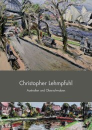 Christopher Lehmpfuhl - Ausstellungskatalog - Galerie Schrade