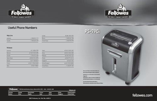 PS-79Ci PS-79Ci - Fellowes