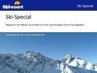 Ihrem Top-Skigebiet - Skiresort Service International