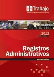 2012 ENERO - Ministerio del Trabajo y Promoción del Empleo