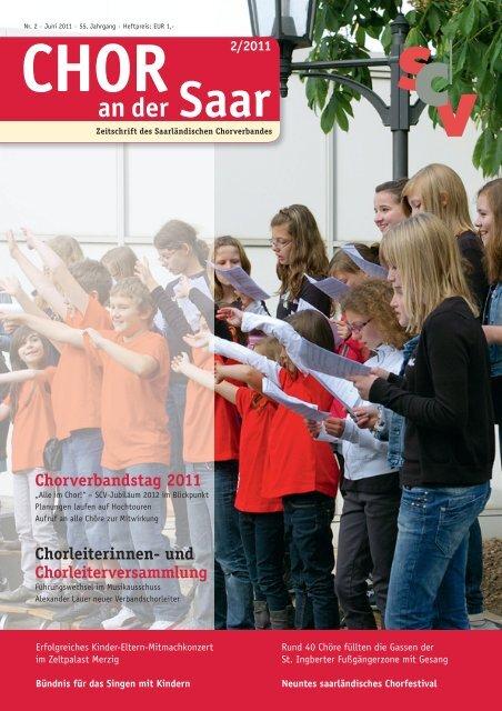 CHORLEITERINNEN- uND CHORLEITERVERSAmmLuNG 2011 ...