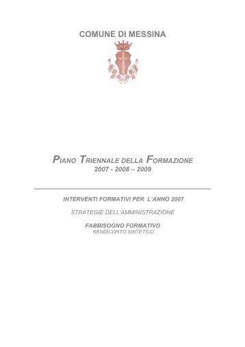 Visiona File PDF - Comune di Messina