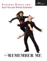 Parsons Dance & East Village Opera Company - State Theatre