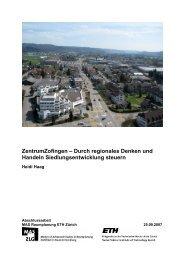 ZentrumZofingen – Durch regionales Denken und ... - vlp-aspan