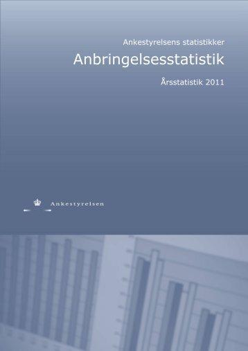 Anbringelsesstatistik 2011 - Ankestyrelsen