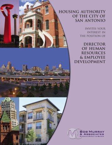San Antonio Housing Authority DHRED - Bob Murray & Associates