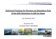 1. Technical Practices for Revision as Mandatory Rule of the IMO ...