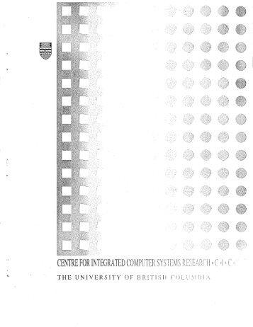 cicsr-tr91-006 - ICICS - University of British Columbia