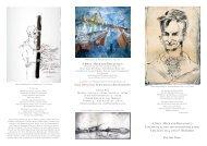«Häfen, Meer und Ringelnatz» Einladung zu den - Galerie Rose