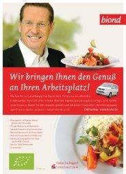 an Ihren Arbeitsplatz! - biond Bio-Catering Marbachshöhe GmbH i.I.