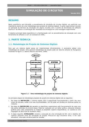 SIMULAÇÃO DE CIRCUITOS - PCS - USP