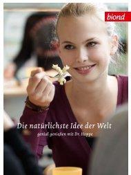 Die natürlichste Idee der Welt - biond Bio-Catering Marbachshöhe ...