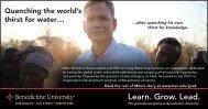 Learn. Grow. Lead. - Benedictine University