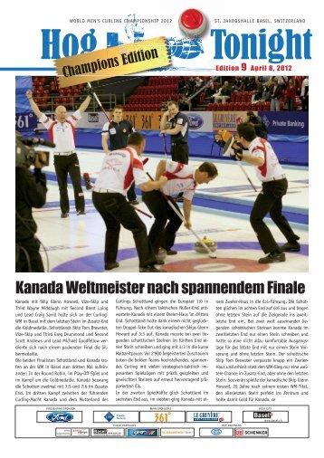 Kanada Weltmeister nach spannendem Finale - Wmcc2012.ch