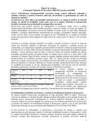 Raport de evaluare a Strategiei Naţionale de Dezvoltare 2008-2011 ...