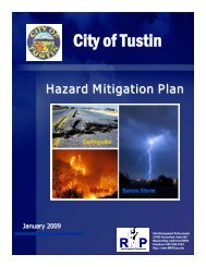 City of Tustin - State of California