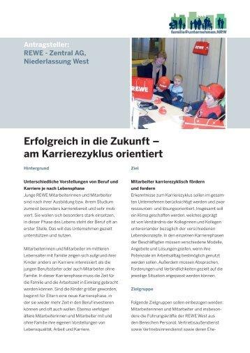 Erfolgreich in die Zukunft – am Karrierezyklus orientiert - Ziel2.NRW