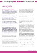 FOR-PROFIT EDUCATION A STEP TOO FAR? - UCU - Page 5