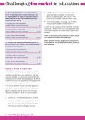 FOR-PROFIT EDUCATION A STEP TOO FAR? - UCU - Page 6