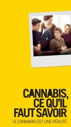 Cannabis, ce qu'il faut savoir - Inpes