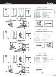 Hardware: Pedal p 42-44 - Mapex