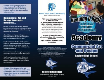 Download our brochure! - Pasco County Schools