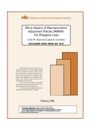 Micro Impacts of Macroeconomic Adjustment Policies (MIMAP): The ...