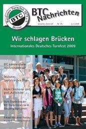 BTC Nachrichten 6_09.indd - Baukauer Turnclub in Herne
