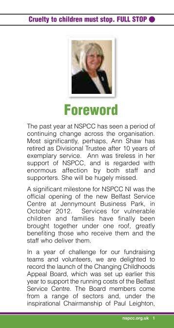 NSPCC Northern Ireland